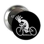 Kokopelli Road Cyclist Button