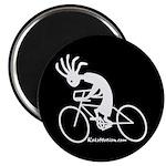Kokopelli Road Cyclist Magnet