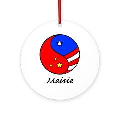 Maisie Ornament (Round)