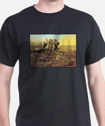 Approach of the White Men, 1897 T-Shirt