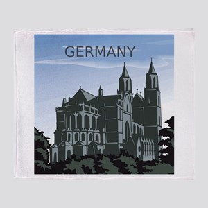 Germany Landscape Throw Blanket