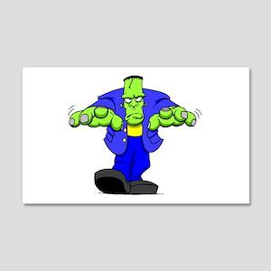 Cartoon Frankenstein 20x12 Wall Decal