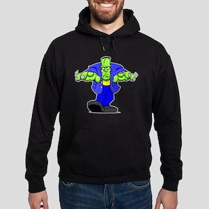 Cartoon Frankenstein Hoodie (dark)