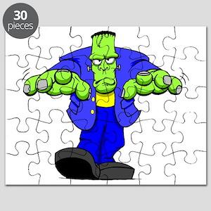 Cartoon Frankenstein Puzzle