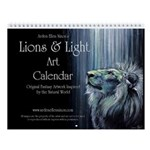 Lions & Light Wall Calendar