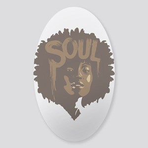 Soul Fro Sticker (Oval)