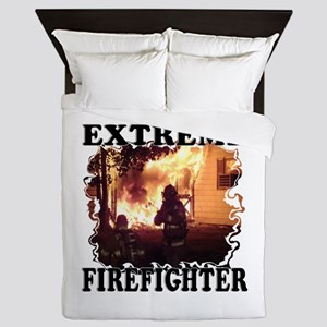 Extreme Firefighter Queen Duvet