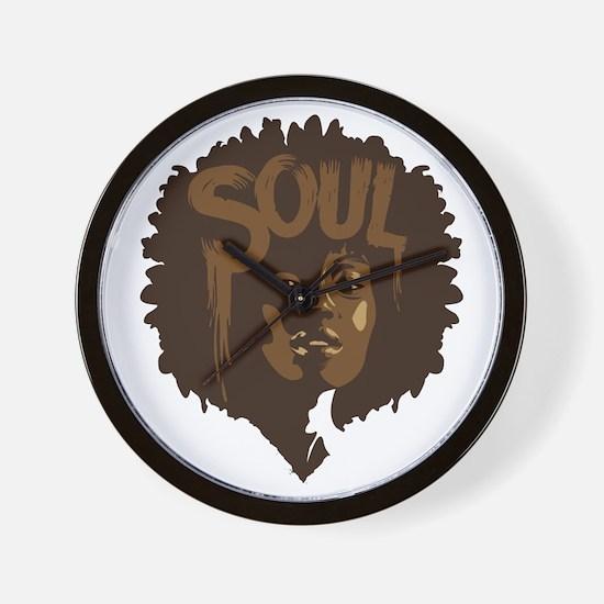 Soul Fro Wall Clock