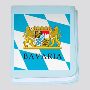 Bavaria Coat Of Arms baby blanket