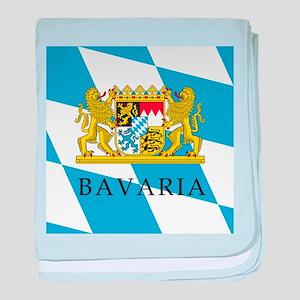 Bavaria Coat Of Arms baby blanket