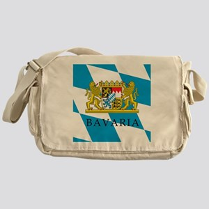 Bavaria Coat Of Arms Messenger Bag