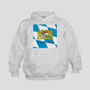 Bavaria Coat Of Arms Kids Hoodie