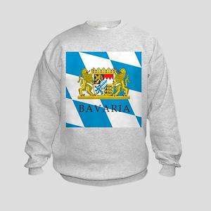 Bavaria Coat Of Arms Kids Sweatshirt