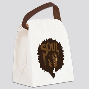 Soul Fro Canvas Lunch Bag