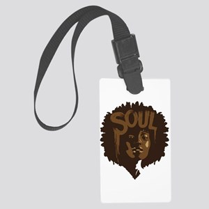 Soul Fro Large Luggage Tag
