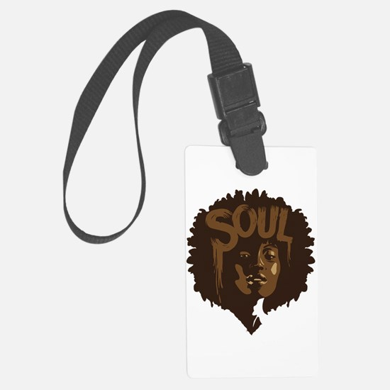 Soul Fro Luggage Tag