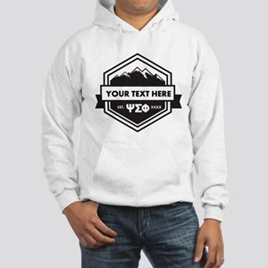 Psi Sigma Phi Mountain Personali Hooded Sweatshirt