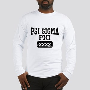Psi Sigma Phi Athletics Person Long Sleeve T-Shirt