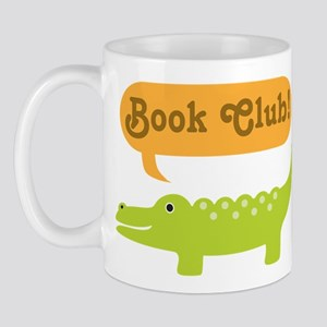 Book Club Alligator Mug