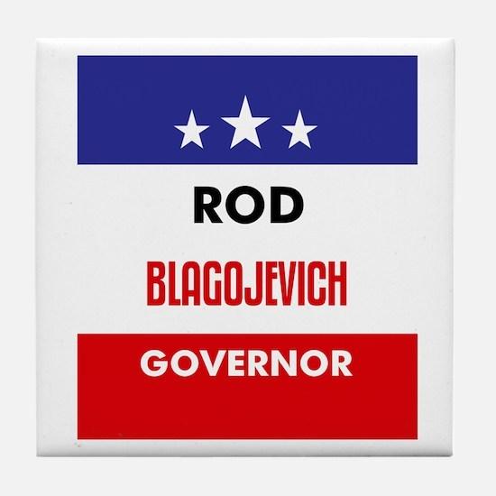 Blagojevich 06 Tile Coaster