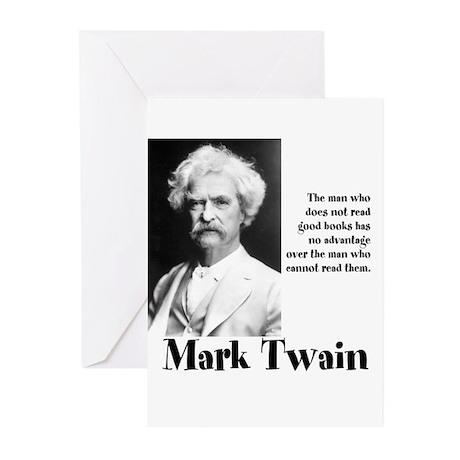 Mark Twain Greeting Cards (Pk of 10)