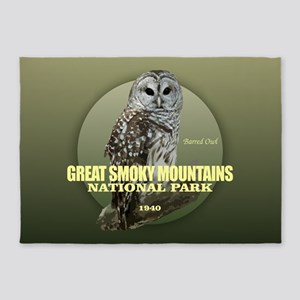 Great Smoky Mtns NP 5'x7'Area Rug