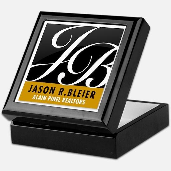 J B Jason R. Bleier Keepsake Box