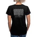 Women's V-Neck Pirate Insult T-Shirt