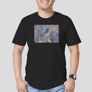 Bluebird of Happiness Men's Fitted T-Shirt (dark)