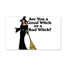 Good witch or BAD witch Wall Decal