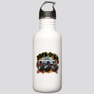 White Jack-R-Up Ram Stainless Water Bottle 1.0L