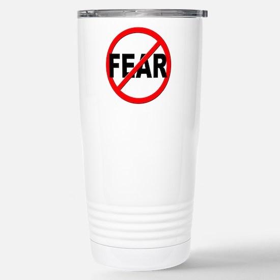 Anti / No Fear Stainless Steel Travel Mug