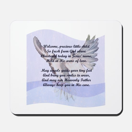 A Christening Gift for You! Mousepad