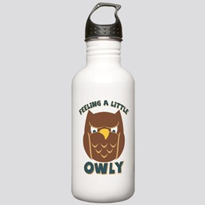 Feeling A Little Owly Stainless Water Bottle 1.0L