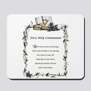 First Holy Communion Mousepad