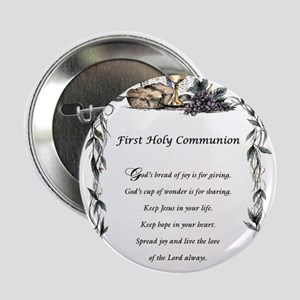 "First Holy Communion 2.25"" Button"