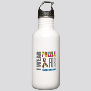 Autism Awareness Ribbo Stainless Water Bottle 1.0L