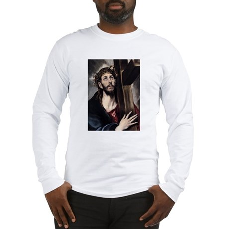 Christ carrying the Cross Long Sleeve T-Shirt
