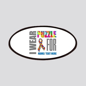 Autism Awareness Ribbon Customized Patch
