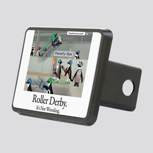 Roller Derby - Its Not Wrestling Rectangular Hitch