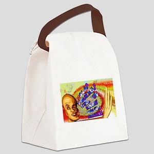 Slap Yourself Awake! Canvas Lunch Bag