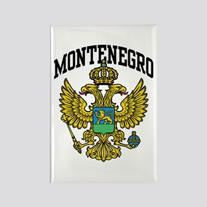 Montenegro Coat of Arms Rectangle Magnet