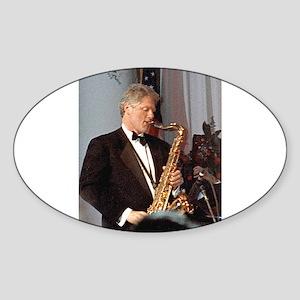 Bill Clinton Sticker (Oval)