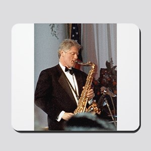 Bill Clinton Mousepad