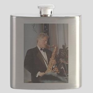 Bill Clinton Flask