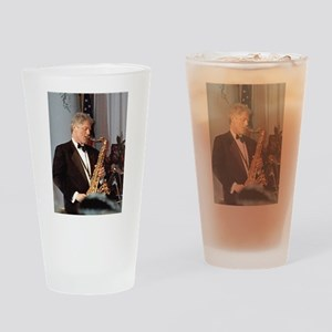 Bill Clinton Drinking Glass