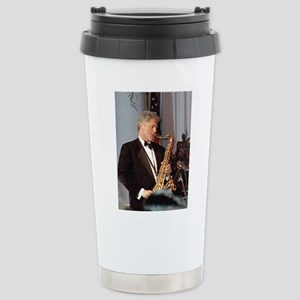 Bill Clinton Stainless Steel Travel Mug