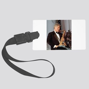 Bill Clinton Large Luggage Tag