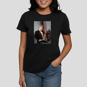 Bill Clinton Women's Dark T-Shirt