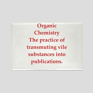 chemistry joke Rectangle Magnet